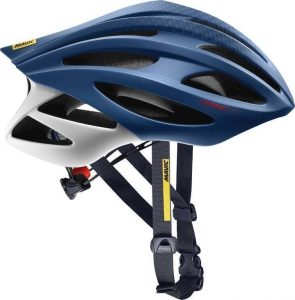 18 MAVIC COSMIC PRO HELMA TRUE BLUE/FIERY RED 401483 M