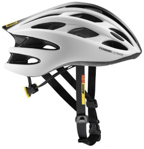 18 MAVIC COSMIC ULTIMATE II HELMA WHITE/BLACK 392541 L