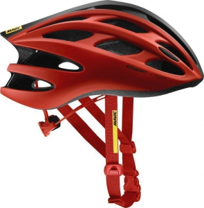 18 MAVIC COSMIC ULTIMATE II HELMA FIERY RED/BLACK 401927 L