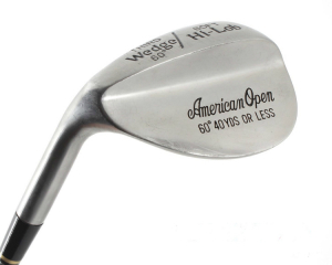 American Open 52° wedge, levá, ocel